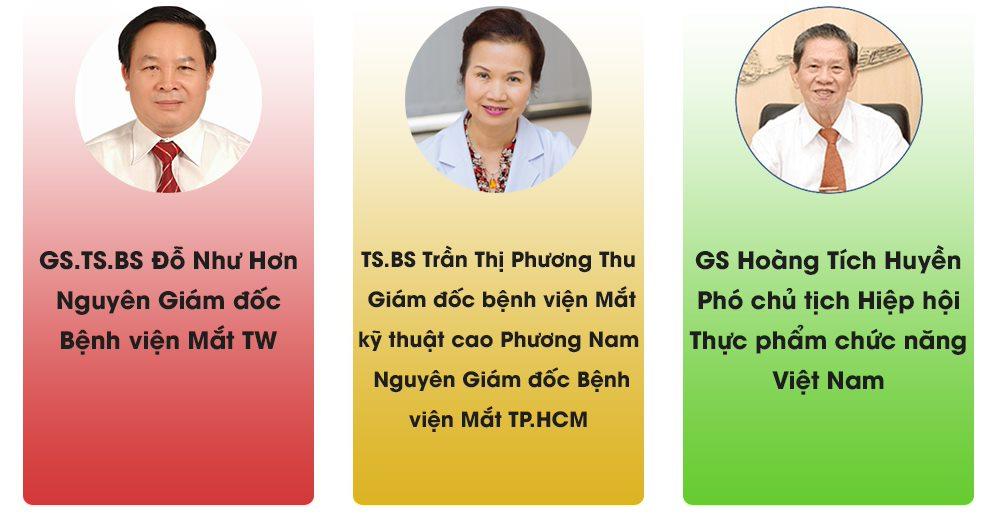 Các chuyên gia nhãn khoa hàng đầu đánh giá cao Minh Nhãn Khang
